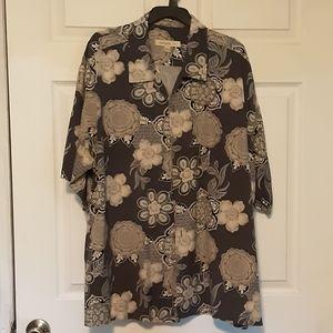 100% Silk Joseph and Feiss shirt